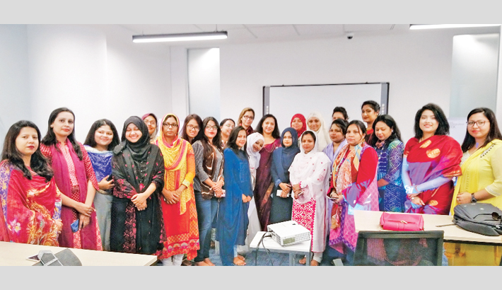 "Global Entrepreneurship Week has been celebrated through organizing a day long Startup Bootcamp for women named ""STARTUP GIRL """